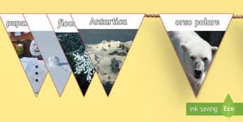 Bandierine con Foto Invernali - foto, invernali, bandierine, nomi, inverno, neve, italiano, italian