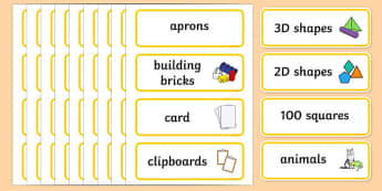 Yellow Themed Editable Classroom Resource Labels - Themed Label template, Resource Label, Name Labels, Editable Labels, Drawer Labels, KS1 Labels, Foundation Labels, Foundation Stage Labels, Teaching Labels, Resource Labels, Tray Labels, Printable la