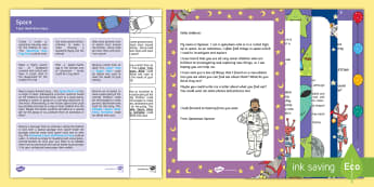 Space Topic Hook Wow Ideas and Resource Pack - EYFS, Early Years, Key Stage 1, KS1, Space, rocket, planet, moon, stars, alien, topic starter, WOW l