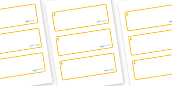 Aspen Themed Editable Drawer-Peg-Name Labels (Blank) - Themed Classroom Label Templates, Resource Labels, Name Labels, Editable Labels, Drawer Labels, Coat Peg Labels, Peg Label, KS1 Labels, Foundation Labels, Foundation Stage Labels, Teaching Labels