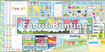 D&T: Fabric Bunting KS1 Unit Additional Resources
