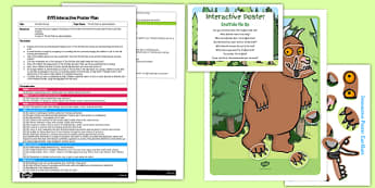 Gruffalo Mix Up to Support Teaching on The Gruffalo EYFS Interactive Poster Plan and Resource Pack - EYFS, Literacy, Julia Donaldson