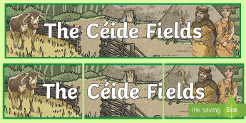 The Céide Fields Banner - ROI,The World Around Us,The Ceide Fields, stone age, neolithic, history, geography, ireland, eire ,I