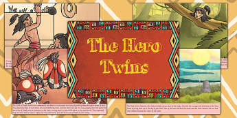 The Hero Twins Mayan Civilization Story - ancient maya, mayans