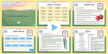 UKS2 Morning Maths Activities PowerPoint - KS2, Maths, games, maths games, maths activities, maths starters, mental starters