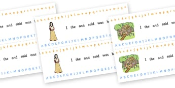 Alphabet Strips (Fantasy) - education, home school, child development, children activities, free, kids, worksheets, how to write, literacy