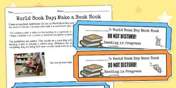 World Book Day Book Nook - world, book, day, book nook, nook