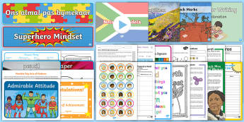 Free South Africa Sample Resource Pack - sample pack, free, freebie, bundle, resource examples