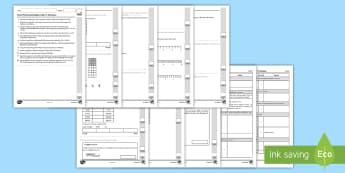 Llyfryn Mathemateg Gweithdrefnol Blwyddyn 5 Tymor 2 Ffracsiynau - Procedural Examples, tests, test, Numeracy Tests, procedural,  Years 5, years 6, Deunyddiau Sampl Gw