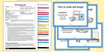 Natural Materials Printing EYFS Adult Input Plan Template and Resource Pack