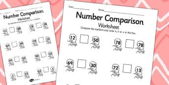 Rapunzel Number Comparison Worksheets - rapunzel, number, sheet
