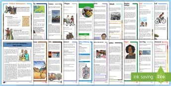 UKS2 Reading Comprehensions Bumper Resource Pack - read, books, Understanding, inference, deduction,