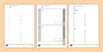 KS1 Editable Maths Arithmetic Assessment - ks1, editable, maths, arithmetic, assessment
