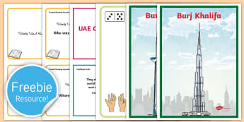 Free UAE Sample Teaching Resource Pack - Free, Sample, UAE, teaching, Twinkl