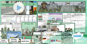 History: World War II LKS2 Unit Pack