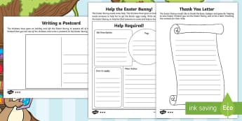 Saving Easter Writing Activity Pack - Children's Books, children, book, books, story, stories, Twinkl, original, Saving Easter, save, sav