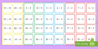 2x, 3x, 5x and 10x Multiplication and Division Cards - multiplication, division, 2 times, 3 times, 5 times, 10 times, multiplication facts, division facts,