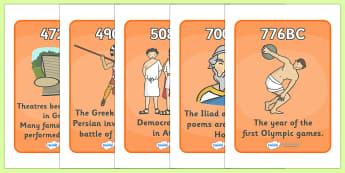 Ancient Greece Timeline - Ancient Greeks