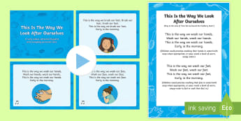 This Is The Way We Look After Ourselves Sensory Song Resource Pack - Sensory Song, Sensory processing, personal hygiene, personal care, P Scales, P Levels