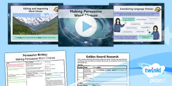 PlanIt Y6 Space: The Golden Record Lesson Pack
