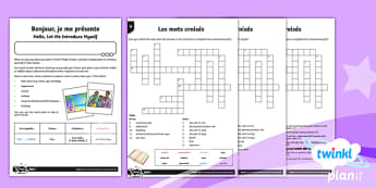 French: Let's Visit a French Town Year 6 Home Learning Tasks