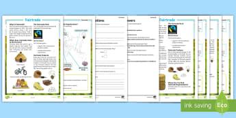Fairtrade Differentiated Reading Comprehension Activity - KS2, comprehension, reading, reading comprehension, reading activity, Fairtrade, farmers, rural, com