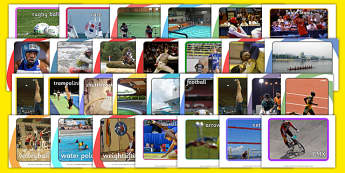 The Olympics Sport Event Display Photo Pack - Olympics, Olympic Games, sports, Olympic, London, 2012, display, photo, photos, poster, pack, activity, Olympic torch, medal, Olympic Rings, mascots, flame, compete, events, tennis, athlete, swimming
