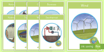 Renewable Energy Display Posters - Earth Science, Renewable Energy, Fossil Fuels, Natural Resources, Solar, Biomass, Biofuel, Geotherma
