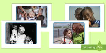 ملصقات عرض صور أفراد العائلة  - أفراد العائلة صور نقاش كامل الصف أفراد ملصق عرض استعما