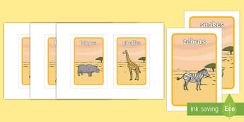Safari Themed Class Group Signs IKEA Tolsby Frame - Safari Themed Class Group Signs IKEA Tolsby Frame - Class Group Signs, Safari animals, group signs,
