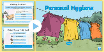 UKS2 Personal Hygiene PowerPoint, personal hygiene, puberty, cleanliness, health a