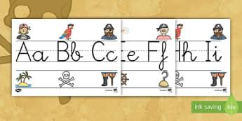 Los piratas recta alfabética de exposición - Los piratas, proyecto, transcurricular, el mar, barcos, abecedario, letras, calografía, escribir, e - Los piratas, proyecto, transcurricular, el mar, barcos, abecedario, letras, calografía, escribir, e