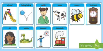 Phase 1 Voice Sound Flashcards - phase 1, voice, sound, flashcards, flash cards