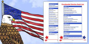 USA Presidential Election Book List