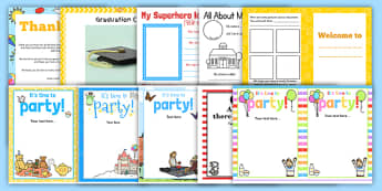 EYFS Transition Resource Pack - Transition from EYFS to KS1 Activities