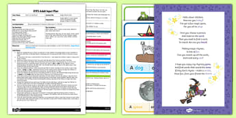 EYFS Magic Rhyme Time Adult Input Plan and Resource Pack