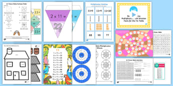 11 Times Table - 11 Times table resources - 11 Times Table - 11 Times table resources, 11 times tables, multiplication, eleven times table