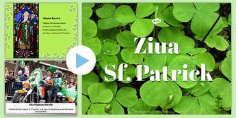 Ziua Sf Patrick, Prezentare PowerPointpe scurt - irlanda
