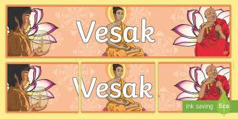Vesak Display Banner - vesak banner, vesak, banner, display
