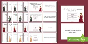 An Inspector Calls Quotation Quiz Flashcards - An Inspector Calls, Quotes, quotations, GCSE English revision, AQA, KS4 quotes