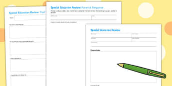 Editable SENCO Review Forms - senco, review, forms, editable