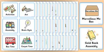 Amserlen Weledol-Dosbarth Derbyn/Y Cyfnod Sylfaen - Visual Timetable, SEN, Daily Timetable, School Day, Daily Activities, Daily Routine, Foundation Stage