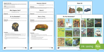 UKS2 No Pens Day Speaking and Listening Activity Pack - Storytelling, No Pens, Vocabulary, Description, Advert