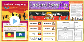 National Sorry Day (26th May) Resource Pack - National Sorry Day,Australia