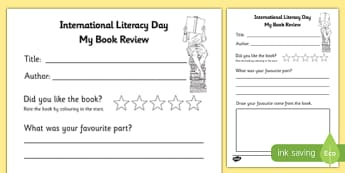 International Literacy Day Book Review