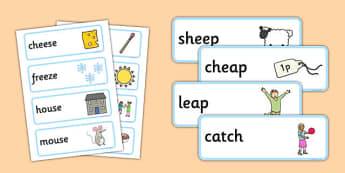 Rhyming Word Cards - rhyme, cards, word cards, flashcards, rhymes, rhyming, activity, sorting