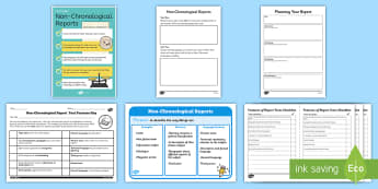 Non Chronological Reports - English Resources, english literacy, non-chronological, non, chronological, writing non-