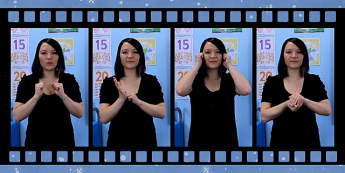 10 Winter Signs in British Sign Language Video Clip - winter, food signs, british, british sign language, bsl, video clip