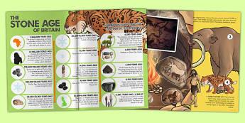 The Stone Age History ebook - stone age, history, ebook, eBook