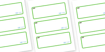 Newt Themed Editable Drawer-Peg-Name Labels (Blank) - Themed Classroom Label Templates, Resource Labels, Name Labels, Editable Labels, Drawer Labels, Coat Peg Labels, Peg Label, KS1 Labels, Foundation Labels, Foundation Stage Labels, Teaching Labels
